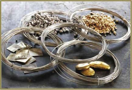 precious metals products